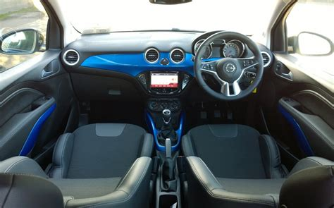 opel adam interior roof opel adam rocks review test drives atthelights com