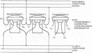 single phase transformers connected in delta