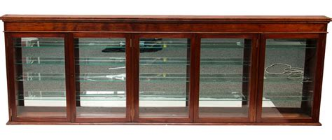 wood and glass display cabinet large wood glass wall display cabinet