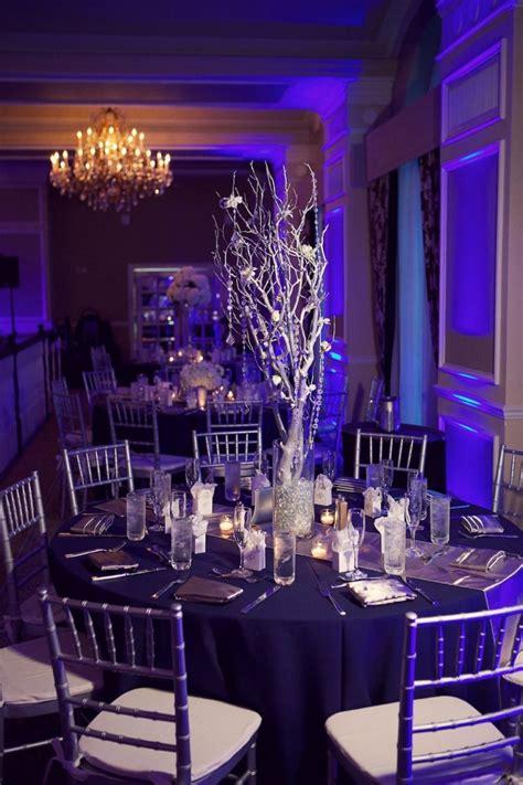 navy blue silver white st pete wedding don
