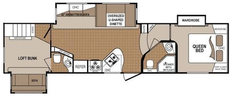denali 5th wheel floor plans 2 bedroom 5th wheel floor plans google search rv
