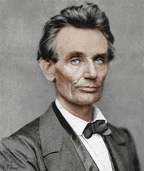 abraham lincoln color photo abraham lincoln in color few figures in american the