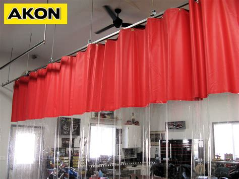 garage curtains garage divider curtains photo gallery akon curtain