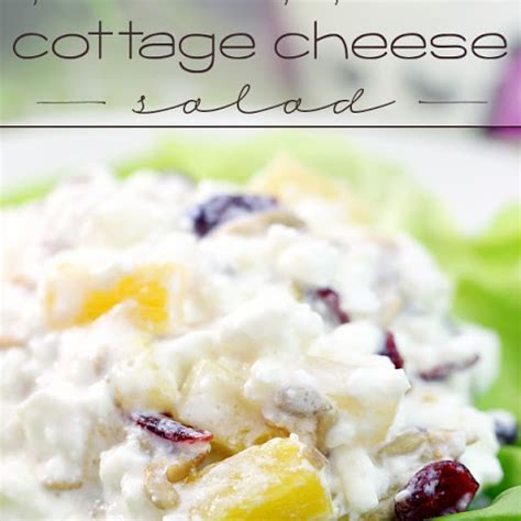 Jello Cottage Cheese Salad Pineapple Recipe by 10 Best Pineapple Salad With Cottage Cheese Recipes Yummly