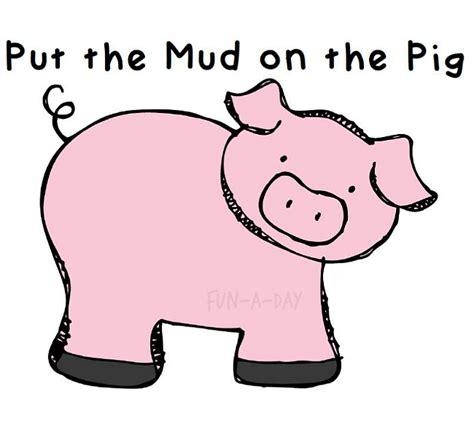 pig template for preschoolers preschool math for a farm theme