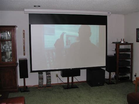 projector in living room living room home theater projector home vibrant