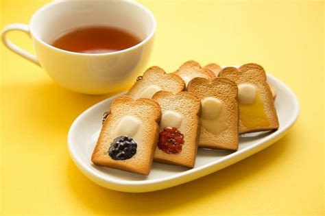 Squishy Bread Bakery mini squishy toasts from tokyo bread bakery limited