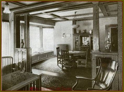 1920s home interiors images from the arts crafts era decorating the bungalow