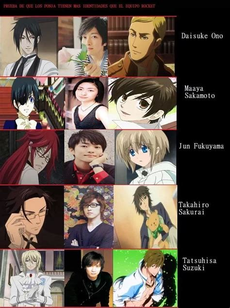 Anime Voice Actors by Anime Japanese Voice Actors Anime