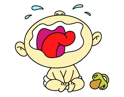 imagenes de bebes llorando pidiendo perdon dibujo de beb 233 llorando pintado por lolaz en dibujos net