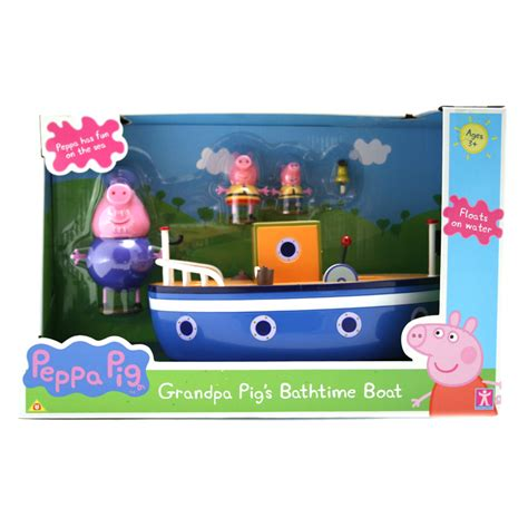 Gamis Pudle Pop peppa pig s pig s bathtime boat original version