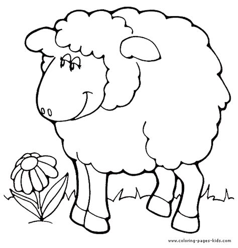 coloring page for sheep free coloring pages of sheep body
