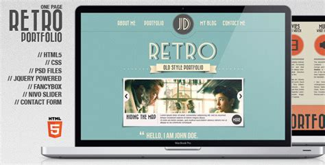 vintage home decor websites 26 beautiful retro website templates web graphic