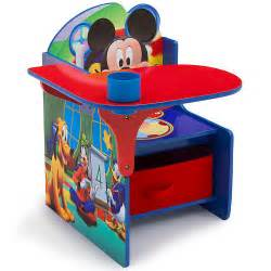 disney mickey mouse chair desk with storage bin toysrus