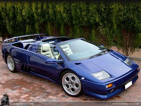 Blue Lamborghini Diablo Diablo Sv Roadster Diasvro2 Hr Image At Lambocars