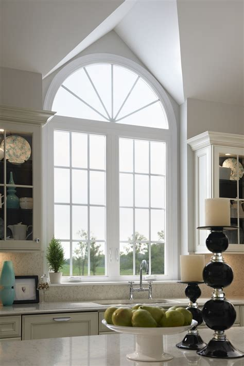 beautiful windows add arch and grids to your home windows for a beautiful