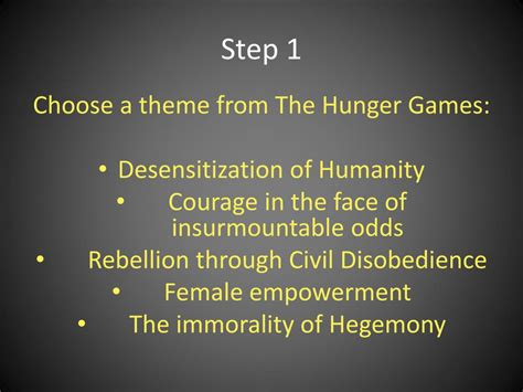 the hunger games themes humanity inhumanity ppt the hunger games acrostic poetry powerpoint