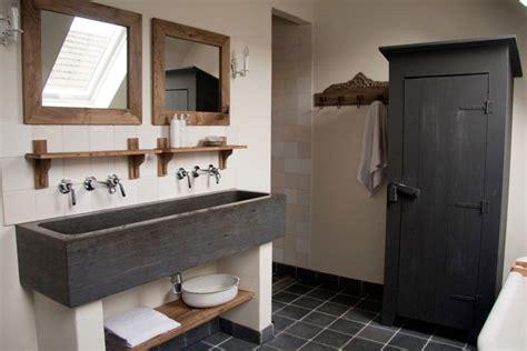 kleine badkamer hout landelijke badkamer idee 235 n voorbeelden en tips woonmooi