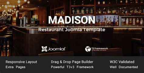 joomla restaurant template joomla restaurant template themekeeper