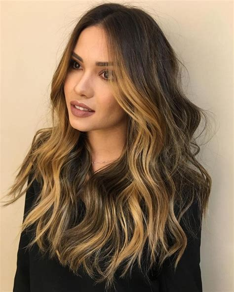 light hair color framing face with brown in back 35 gorgeous highlights for brightening up dark brown hair
