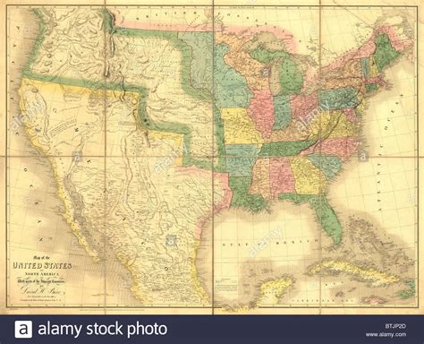 map us before mexican war 1839 map showing us mexican boundary before the mexican