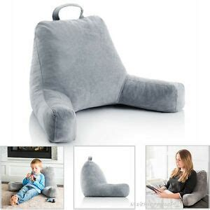 bed pillow chair rest lounger backrest cushion back support soft reading bedrest ebay