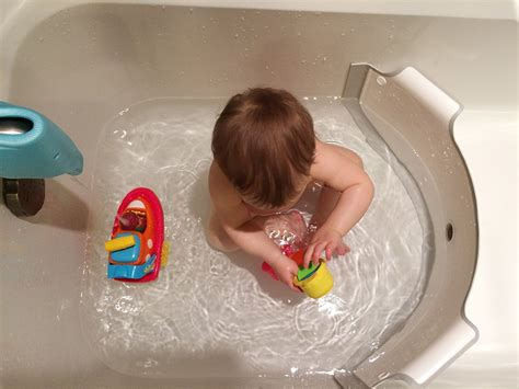 bathtub divider babydam bathtub divider the green head