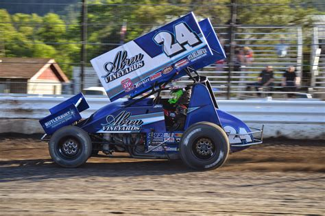 rico abreu racing the dirt network friesen stands on top of the world