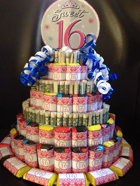 Money Anddy Cake Great Idea For Sweet  Ee   Ee    Ee  Birthday Ee   Or