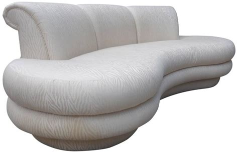 curved shaped sofa adrian pearsall kidney shaped curved sofa for comfort