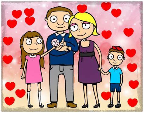 imagenes de la familia en dibujos ver dibujo de una familia unida imagenes de familia