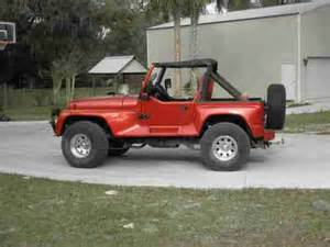 Jeep Wrangler Renegade 1991 Purchase Used 1991 Jeep Wrangler Yj Renegade In Orange
