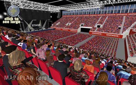 Nec Floor Plan by Birmingham Genting Arena Nec Lg Arena Detailed Seat