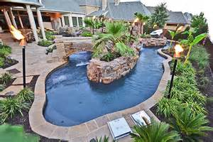 how to make a lazy river in your backyard triyae build backyard lazy river various design