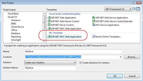 template asp net scottgu s asp net mvc source refresh preview