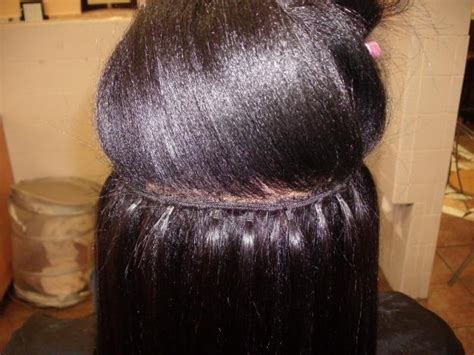 hair do with sew in weave with a part in the middle does your hair have to be long for a vixen sew in