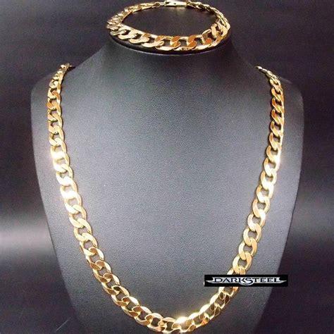 cadenas de oro precios mexico 18k cadena y pulsera cartier oro laminado 68cm x 9 2 mm