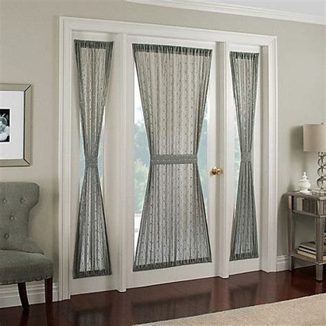 side window panel curtain 25 best ideas about front door curtains on pinterest