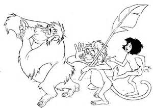 jungle book coloring pages jungle book pinterest