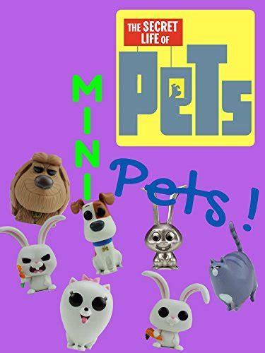 secret life  pets mini pets toy figurine