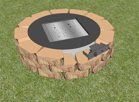 easy diy pit kit 70 best images about diy gas pit on