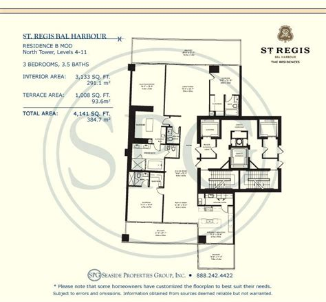 st regis bal harbour floor plans st regis bal harbour floor plans luxury oceanfront