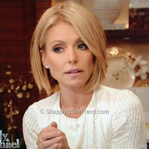 kelly ripa bob wave hair pinterest kelly ripa bobs kelly ripa haircut need opinions please piog