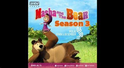 film kartun dinosaurus di antv masha and the bear episode terbaru segera tayang di antv