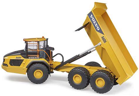 bruder toys volvo ah articulated dump truck high impact