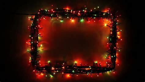 blinking frame  christmas lights stock footage video  royalty   shutterstock