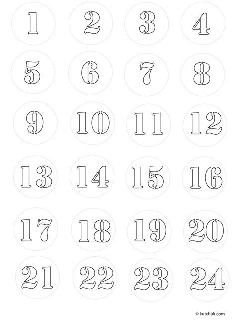 Calendrier De L Avent En Anglais à Colorier Coloriages De No 235 L Calendries De L Avent Papier 224