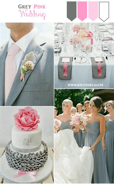Grey Wedding Ideas: 3 Perfect Colors to combine with Grey