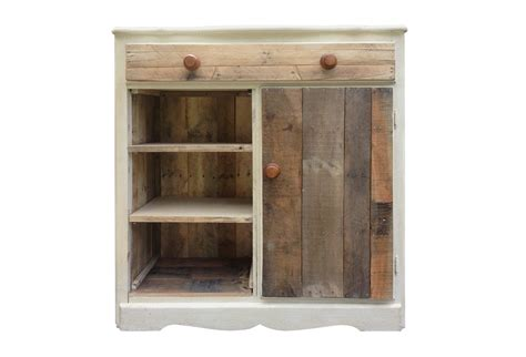 upcycled rustic wood cabinet omero home
