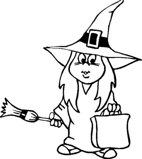 imagenes de brujas bonitas para dibujar dibujos para colorear y pintar de brujas